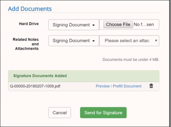 Sending Quotes for Signature with Salesforce CPQ