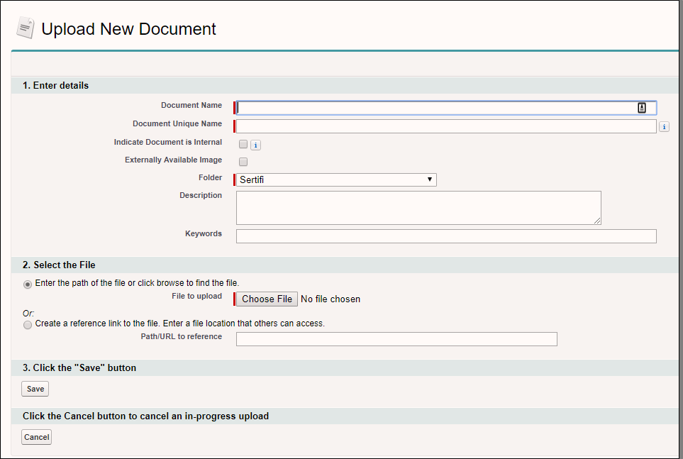 Adding documents to your Sertifi folder
