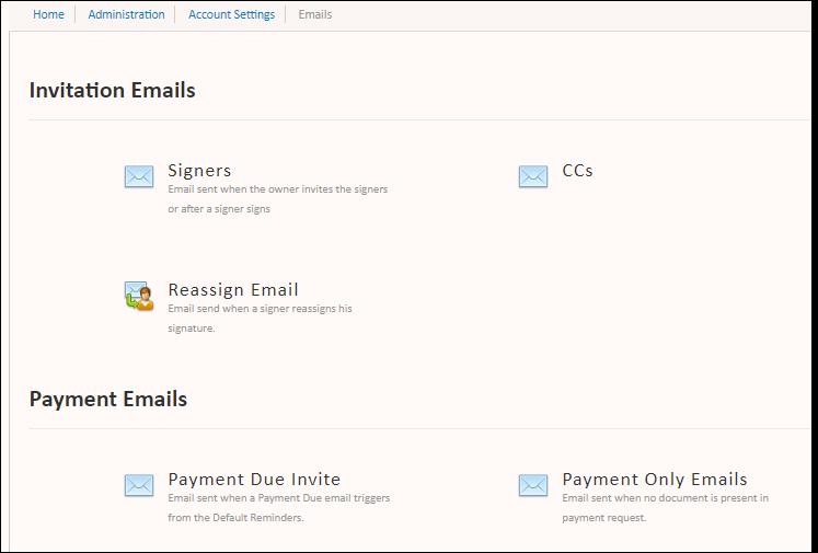 emails super admin